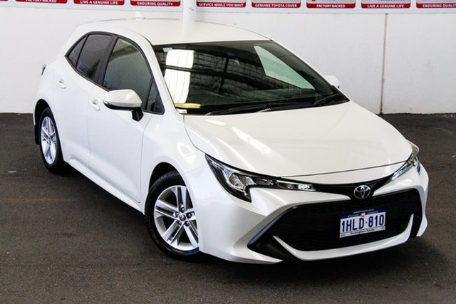 Pre-Owned Toyota Corolla Mzea12R Ascent Sport Rockingham, 2020 Toyota Corolla Mzea12R Ascent Sport Crystal Pearl 10 Speed Constant Variable Hatchback
