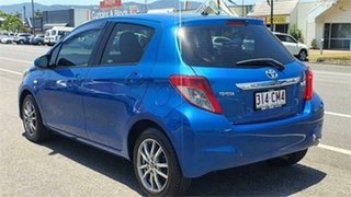 2013 Toyota Yaris NCP131R YRS Blue 4 Speed Automatic Hatchback.