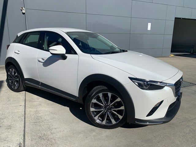 New Mazda CX-3 DK2W7A sTouring SKYACTIV-Drive FWD Alexandria, 2021 Mazda CX-3 DK2W7A sTouring SKYACTIV-Drive FWD Snowflake White 6 Speed Sports Automatic Wagon