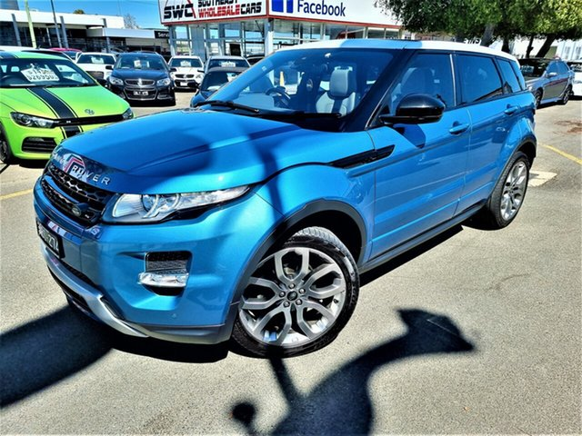 Used Land Rover Range Rover Evoque L538 MY14 Dynamic Seaford, 2014 Land Rover Range Rover Evoque L538 MY14 Dynamic Blue 9 Speed Sports Automatic Wagon