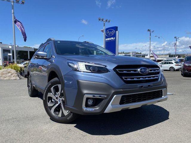 New Subaru Outback B7A MY21 AWD Touring CVT Brookvale, 2021 Subaru Outback B7A MY21 AWD Touring CVT Storm Grey 8 Speed Constant Variable Wagon