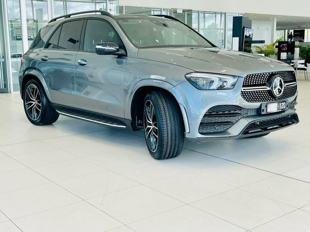 Used Mercedes-Benz GLE-Class V167 GLE450 9G-Tronic 4MATIC Essendon Fields, 2019 Mercedes-Benz GLE-Class V167 GLE450 9G-Tronic 4MATIC Grey 9 Speed Sports Automatic Wagon