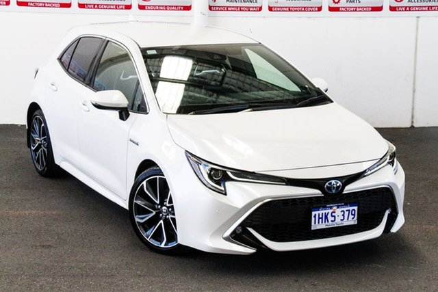 Pre-Owned Toyota Corolla Mzea12R ZR Myaree, 2020 Toyota Corolla Mzea12R ZR Crystal Pearl 10 Speed Constant Variable Hatchback