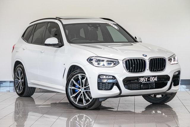 Used BMW X3 G01 xDrive30i Steptronic , 2018 BMW X3 G01 xDrive30i Steptronic Alpine White 8 Speed Automatic Wagon