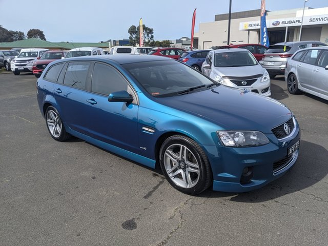 Used Holden Commodore VE II MY12 SV6 Sportwagon Warrnambool East, 2012 Holden Commodore VE II MY12 SV6 Sportwagon Blue 6 Speed Sports Automatic Wagon