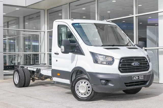 Used Ford Transit VO 2019.75MY 470E Ferntree Gully, 2019 Ford Transit VO 2019.75MY 470E White 6 Speed Manual Single Cab Cab Chassis