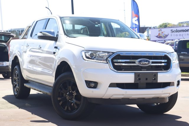 Used Ford Ranger PX MkIII 2019.00MY XLT Toowoomba, 2019 Ford Ranger PX MkIII 2019.00MY XLT White 6 Speed Sports Automatic Double Cab Pick Up