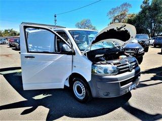 2012 Volkswagen Transporter T5 MY12 TDI250 SWB Runner White 5 Speed Manual Van