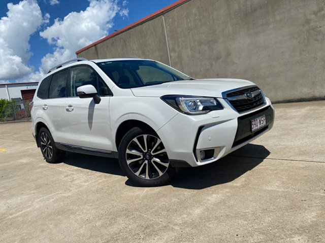 Used Subaru Forester S4 MY16 XT CVT AWD Premium Hervey Bay, 2016 Subaru Forester S4 MY16 XT CVT AWD Premium Crystal White 8 Speed Constant Variable Wagon