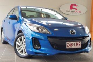 2012 Mazda 3 BL10C2 MZR-CD Blue 6 Speed Manual Sedan.