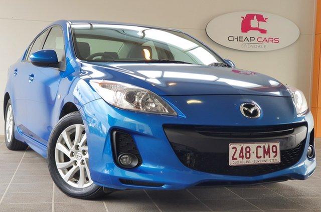 Used Mazda 3 BL10C2 MZR-CD Brendale, 2012 Mazda 3 BL10C2 MZR-CD Blue 6 Speed Manual Sedan