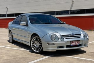 2002 Ford Falcon AUIII XR6 VCT Silver 4 Speed Automatic Sedan.
