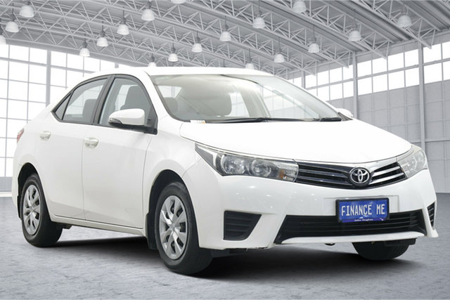 Used Toyota Corolla ZRE172R Ascent S-CVT Victoria Park, 2016 Toyota Corolla ZRE172R Ascent S-CVT White 7 Speed Constant Variable Sedan