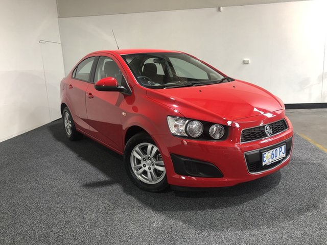 Used Holden Barina TM MY15 CD Launceston, 2015 Holden Barina TM MY15 CD Red 6 Speed Automatic Sedan