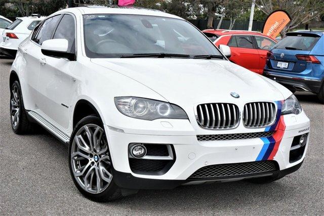 Used BMW X6 E71 MY12 xDrive40d Coupe Steptronic Phillip, 2012 BMW X6 E71 MY12 xDrive40d Coupe Steptronic White 8 Speed Sports Automatic Wagon