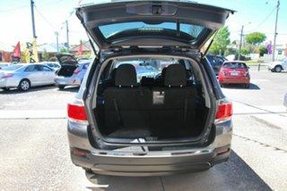 2011 Toyota Kluger GSU40R MY11 Upgrade KX-R (FWD) 7 Seat Grey 5 Speed Automatic Wagon