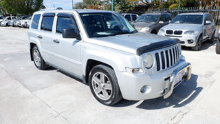 2008 Jeep Patriot MK MY2007 Limited Silver 6 Speed Manual Wagon.