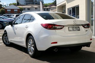 2014 Mazda 6 GJ1032 Touring SKYACTIV-Drive Snowflake White Pearl 6 Speed Sports Automatic Sedan.