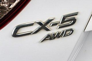2013 Mazda CX-5 MY13 Maxx Sport (4x4) White 6 Speed Automatic Wagon