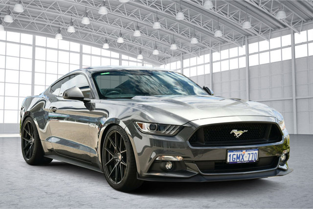 Used Ford Mustang FM 2017MY GT Fastback SelectShift Victoria Park, 2017 Ford Mustang FM 2017MY GT Fastback SelectShift Magnetic 6 Speed Sports Automatic Fastback