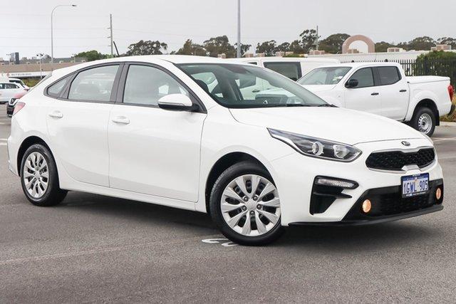 Used Kia Cerato BD MY20 S Wangara, 2019 Kia Cerato BD MY20 S White 6 Speed Sports Automatic Hatchback