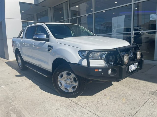 Used Ford Ranger PX MkII XLT Double Cab Ferntree Gully, 2017 Ford Ranger PX MkII XLT Double Cab White 6 Speed Sports Automatic Utility
