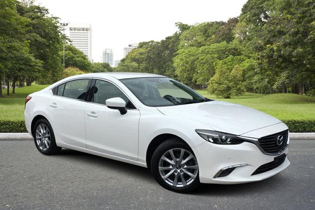 Used Mazda 6 GL1031 Touring SKYACTIV-Drive Paradise, 2017 Mazda 6 GL1031 Touring SKYACTIV-Drive White 6 Speed Sports Automatic Sedan