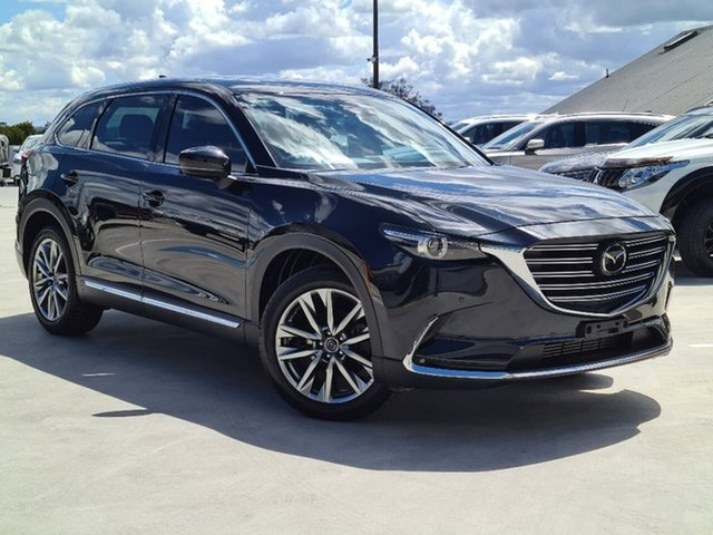 Used Mazda CX-9 TC Azami SKYACTIV-Drive Liverpool, 2017 Mazda CX-9 TC Azami SKYACTIV-Drive Black 6 Speed Sports Automatic Wagon