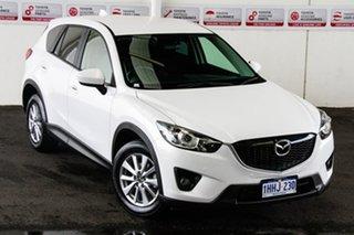 2013 Mazda CX-5 MY13 Maxx Sport (4x4) White 6 Speed Automatic Wagon.