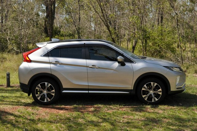 Used Mitsubishi Eclipse Cross YA MY18 Exceed (2WD) Kingaroy, 2018 Mitsubishi Eclipse Cross YA MY18 Exceed (2WD) Silver Continuous Variable Wagon