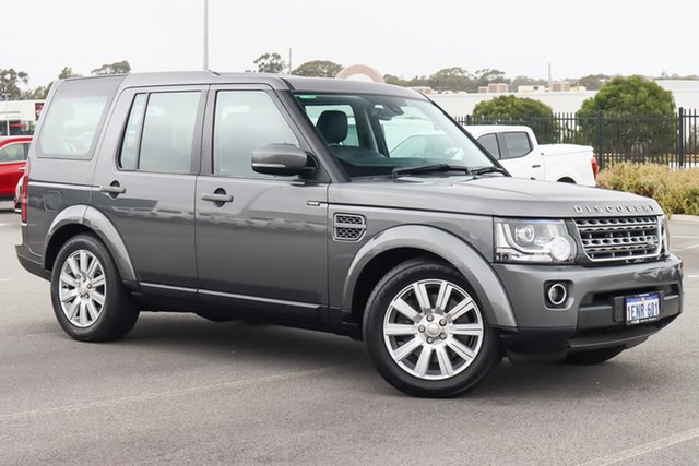 Used Land Rover Discovery Series 4 L319 MY14 TDV6 Wangara, 2014 Land Rover Discovery Series 4 L319 MY14 TDV6 Grey 8 Speed Sports Automatic Wagon