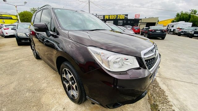Used Subaru Forester S4 MY13 2.5i-S Lineartronic AWD Maidstone, 2013 Subaru Forester S4 MY13 2.5i-S Lineartronic AWD Maroon 6 Speed Constant Variable Wagon