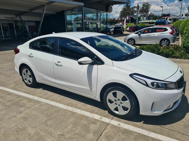 Used Kia Cerato YD MY18 S Yamanto, 2017 Kia Cerato YD MY18 S White 6 Speed Sports Automatic Sedan
