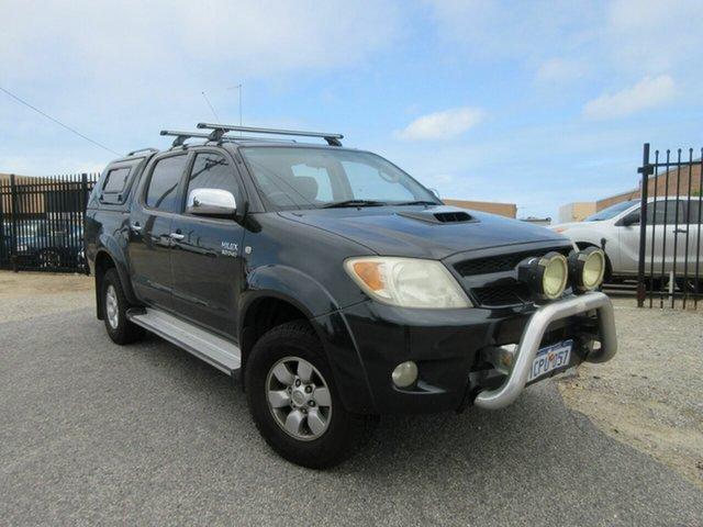 Used Toyota Hilux KUN26R SR5 (4x4) Wangara, 2006 Toyota Hilux KUN26R SR5 (4x4) Black 4 Speed Automatic Dual Cab Pick-up