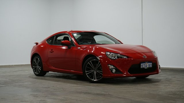 Used Toyota 86 ZN6 GTS Welshpool, 2014 Toyota 86 ZN6 GTS Red 6 Speed Sports Automatic Coupe