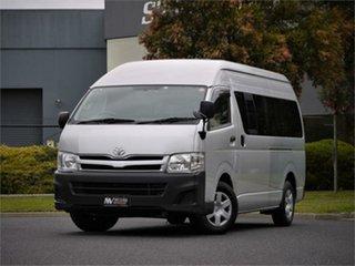 2013 Toyota HiAce KDH221K DX Silver 4 Speed Automatic Van.