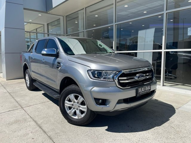 Used Ford Ranger PX MkIII 2020.25MY XLT Ferntree Gully, 2020 Ford Ranger PX MkIII 2020.25MY XLT Silver 6 Speed Sports Automatic Double Cab Pick Up
