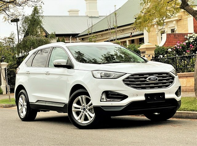 Used Ford Endura CA 2019MY Trend Hyde Park, 2018 Ford Endura CA 2019MY Trend White 8 Speed Sports Automatic Wagon