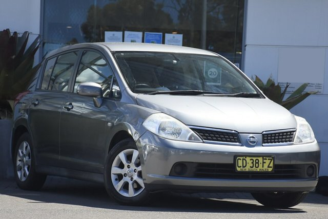 Used Nissan Tiida C11 ST Sutherland, 2006 Nissan Tiida C11 ST Grey 4 Speed Automatic Hatchback