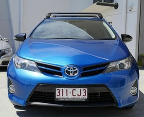 2014 Toyota Corolla ZRE182R RZ S-CVT Blue 7 Speed Constant Variable Hatchback.
