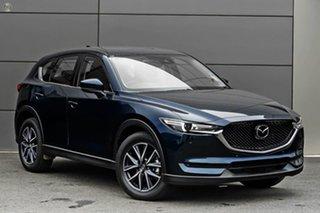 2021 Mazda CX-5 KF4WLA GT SKYACTIV-Drive i-ACTIV AWD Blue 6 Speed Sports Automatic Wagon.