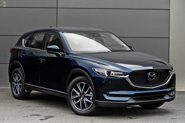 New Mazda CX-5 KF4WLA GT SKYACTIV-Drive i-ACTIV AWD Waitara, 2021 Mazda CX-5 KF4WLA GT SKYACTIV-Drive i-ACTIV AWD Blue 6 Speed Sports Automatic Wagon