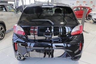 2021 Mitsubishi Mirage LB MY22 LS Black 1 Speed Constant Variable Hatchback.