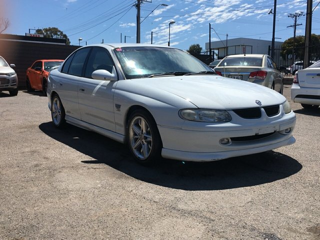 Used Holden Commodore VT II SS Blair Athol, 1999 Holden Commodore VT II SS White 4 Speed Automatic Sedan
