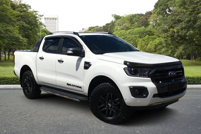 Used Ford Ranger PX MkIII 2020.25MY Wildtrak Paradise, 2020 Ford Ranger PX MkIII 2020.25MY Wildtrak White 6 Speed Sports Automatic Double Cab Pick Up