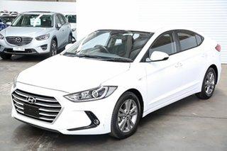 2015 Hyundai Elantra MD3 Active White 6 Speed Sports Automatic Sedan.