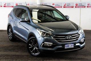 2016 Hyundai Santa Fe DM Series II (DM3) 30 Special Edition Blue 6 Speed Automatic Wagon.