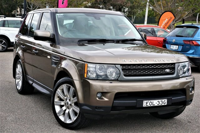 Used Land Rover Range Rover Sport L320 11MY TDV6 Phillip, 2011 Land Rover Range Rover Sport L320 11MY TDV6 Brown 6 Speed Sports Automatic Wagon