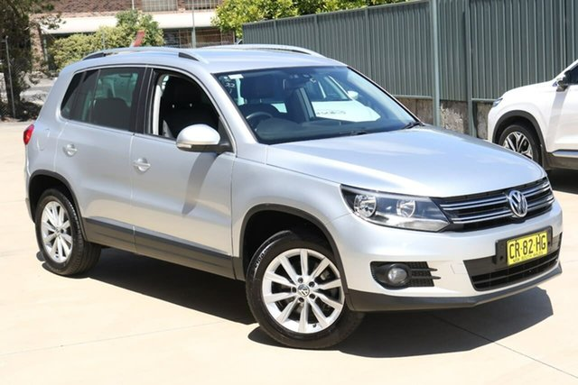 Used Volkswagen Tiguan 5N MY12.5 155TSI DSG 4MOTION Tuggerah, 2012 Volkswagen Tiguan 5N MY12.5 155TSI DSG 4MOTION Silver 7 Speed Sports Automatic Dual Clutch
