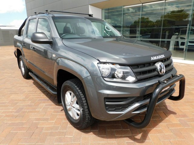 Used Volkswagen Amarok 2H MY19 TDI420 4MOTION Perm Core Toowoomba, 2019 Volkswagen Amarok 2H MY19 TDI420 4MOTION Perm Core Grey 8 Speed Automatic Utility